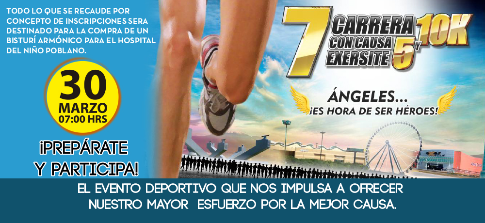 7 Carrera con Causa Exersite 5 y 10k
