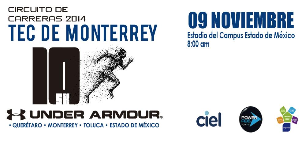 CARRERA TEC UNDER-ARMOUR 2014