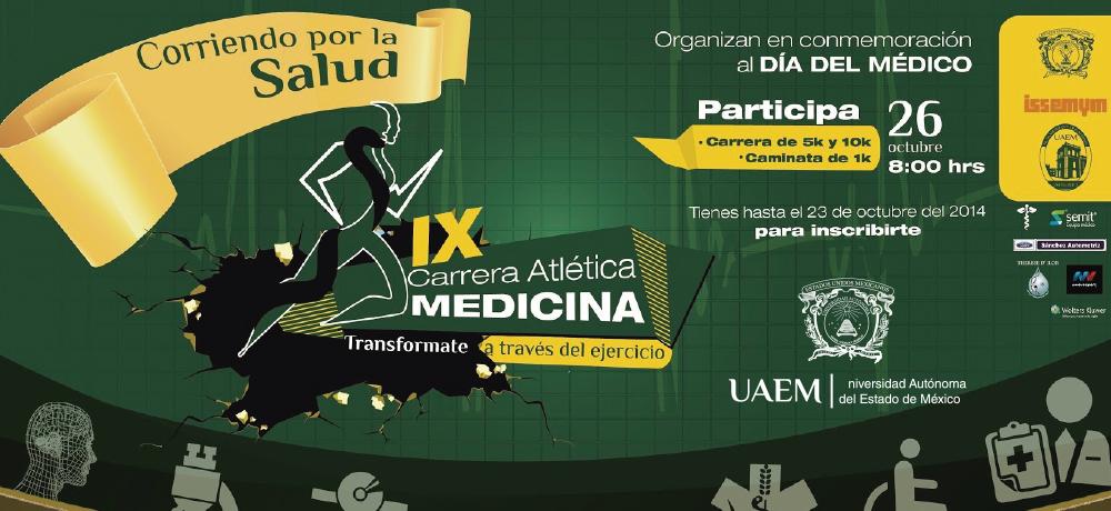 Carrera Atlética del dia del Médico 2014