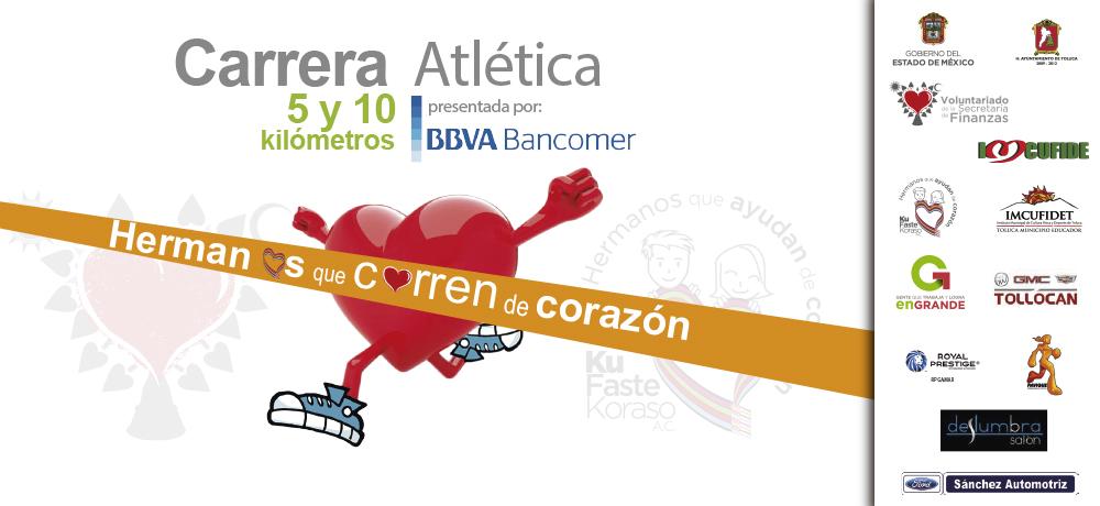 """Carrera Atlética """"Hermanos que Corren de Corazón"""""""