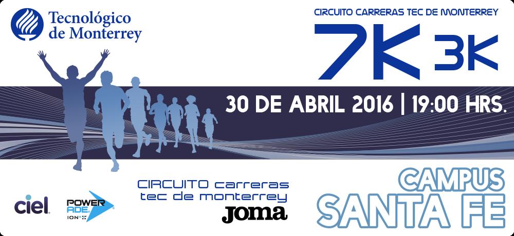 CARRERA TEC- JOMA 3K Y 7K 2016