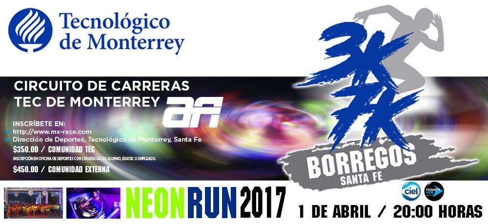 CARRERA TEC- ACTIVE, 3K Y 7K 2017
