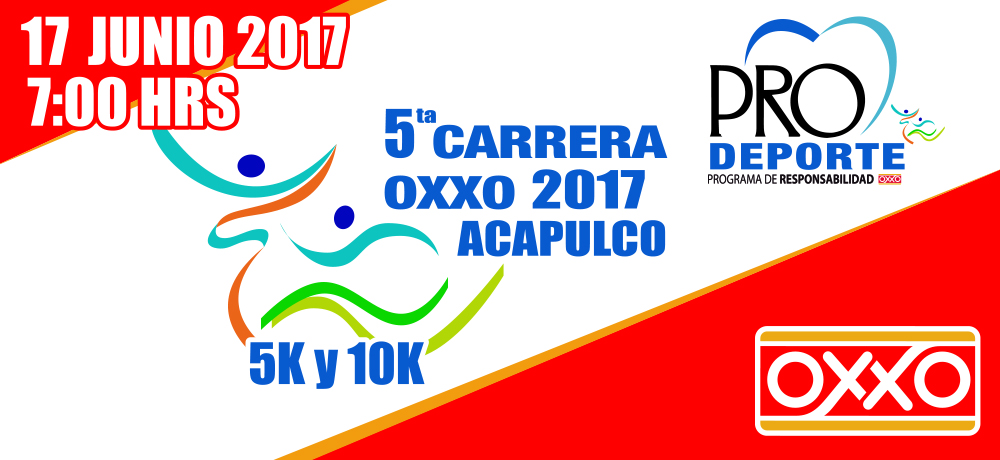5ta CARRERA OXXO ACAPULCO 2017