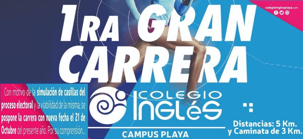 1RA GRAN CARRERA COLEGIO INGLES CAMPUS PLAYA 2018
