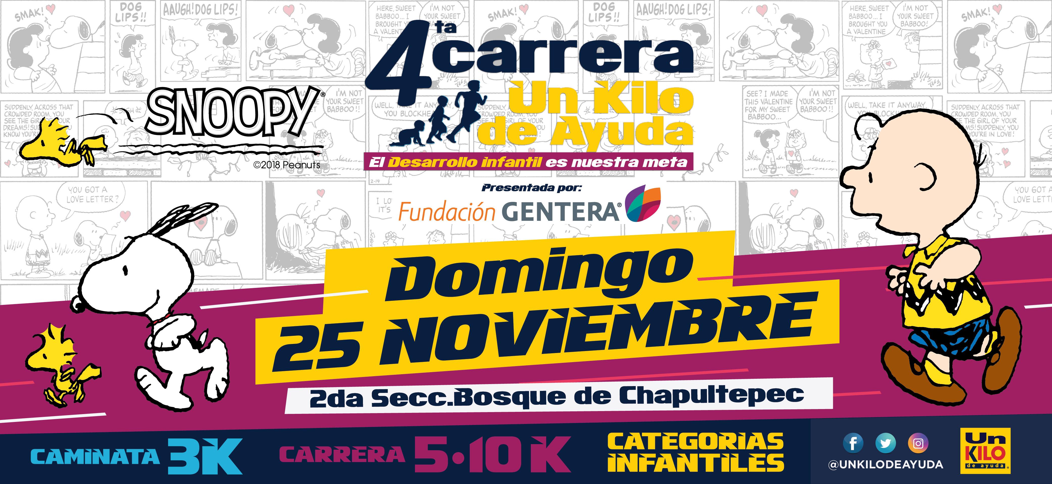 4ª CARRERA UN KILO DE AYUDA