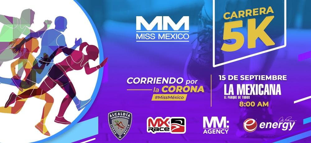 CARRERA MISS MÉXICO 5K